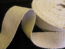 12 reels of  STRONG  jute upholstery webbing seat seating tape 33mt  - BULK  LOT